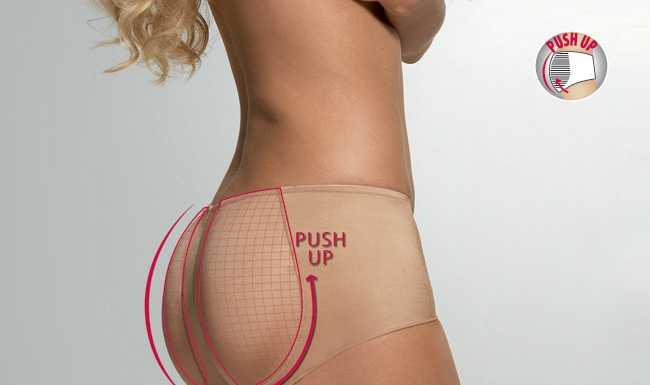 PushUp Panty Lisca im LingerieWEB.net Online Shop