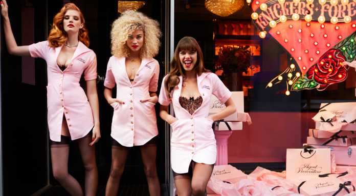 Agent Provocateur Winter 2015 Kollektion Knickers Forever 01